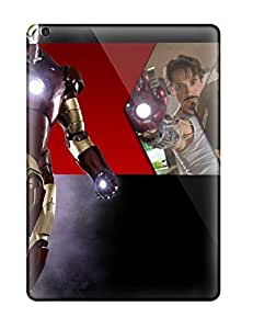 High-end Case Cover Protector For Ipad Air(iron Man)
