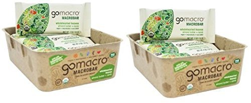 Gomacro – Macrobar – Wholehearted Heaven Breakfast Bar – Almond Butter and Carob – 2.1 Oz Bars – Pack of 12 Review