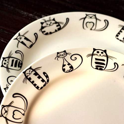 Tazza compleanni partito cucina compleanno matrimonio catering Meow porcellana 7.6OZ Tazza di Ceramica Gatto Super Carino tazze di caff/è t/è al latte in ceramica tazza di mattina