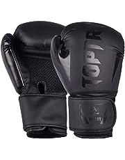 Boxing Gloves PU Sparring Gloves, Kickboxing Gloves for Outdoor Sports Training, Muay Thai, Training Sparring, Fighting, Kickboxing, Punch Bag Boxing for Men & Women