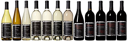 Naked Winery Dirty Dozen Wine Mixed Case, 12 x 750 mL
