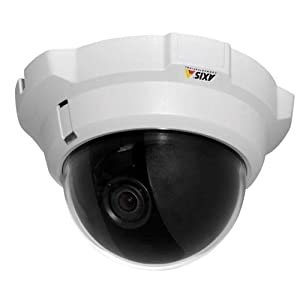 Axis Communications 0290-001 Tamper-Resistant Indoor Fixed Dome Network Camera by Axis Communications