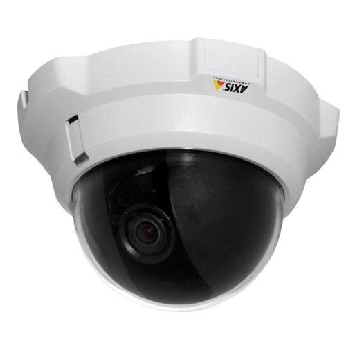 Axis Communications 0290-001 Tamper-Resistant Indoor Fixed Dome Network Camera