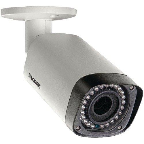 (LOREX LNB3373SB 3.0-Megapixel HD Varifocal IP Bullet Camera, White)