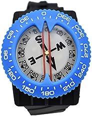 Scuba Choice Diving Deluxe Wrist Compass, Blue