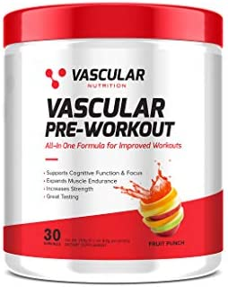 All-in-One Pre-Workout by Vascular Nutrition