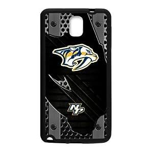 Custom Unique Design NHL Nashville Predators Samsung Galaxy Note 3 Silicone Case