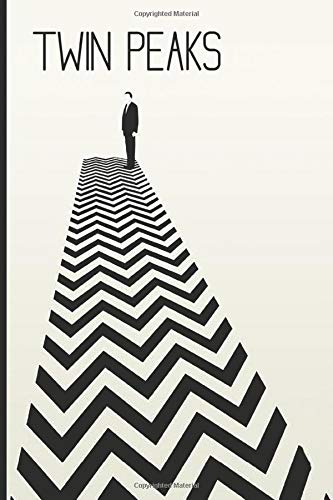 Twin Peaks: Black and White notebook, 100 lined pages, 6x9: Amazon.es: MovieNotebooks: Libros en idiomas extranjeros