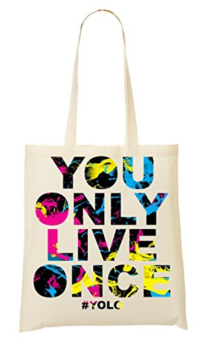 #Yolo | Joke & Funny Tshirt Collection By Positive Tees | 100% Ring-Spoon | Nice To Bolso De Mano Bolsa De La Compra