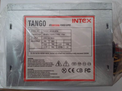 Amazon.in: Buy Intex SMPS Techno 450 20 + 4pin Sata Online at Low ...