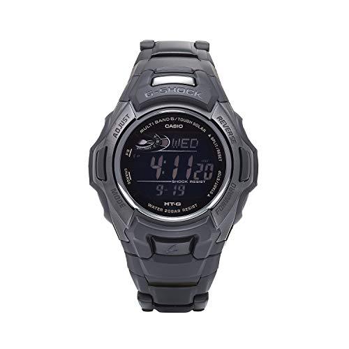 Casio Men's Tough Solar Quartz Watch with Stainless-Steel Strap, Black, 20.3 (Model: MTG-M900BD-1CR) (Casio Efa 119bk 1avdr Erkek Kol Saati)