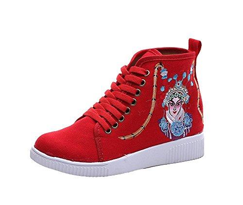 Lazutom , Damen Sneaker Rot