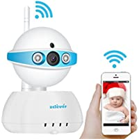 Zclever IP Camera Wireless Wifi 720p HD Security Surveillance Video System Baby Monitor Two Way Audio & Night Vision