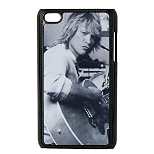 Clzpg Customized Ipod Touch 4 Case - Bon Jovi shell phone case