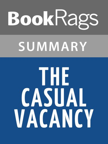Summary & Study Guide The Casual Vacancy by J. K. Rowling
