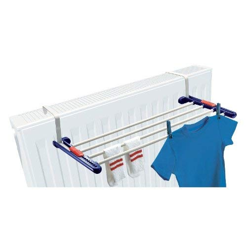 Household Essentials Leifheit Quartett Over-The-Door Clothes Drying Rack