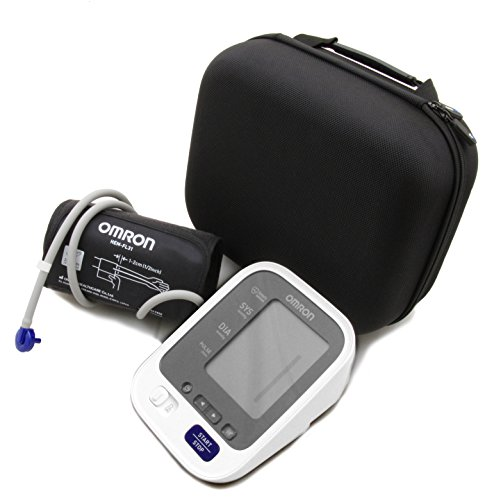 CASEMATIX Padded Travel Case For OMRON 7 Series Upper Arm Blood Pressure Monitor - Fits Monitor and Arm Cuff models BP761N , BP760N , BP761 , BP760 by CASEMATIX (Image #4)