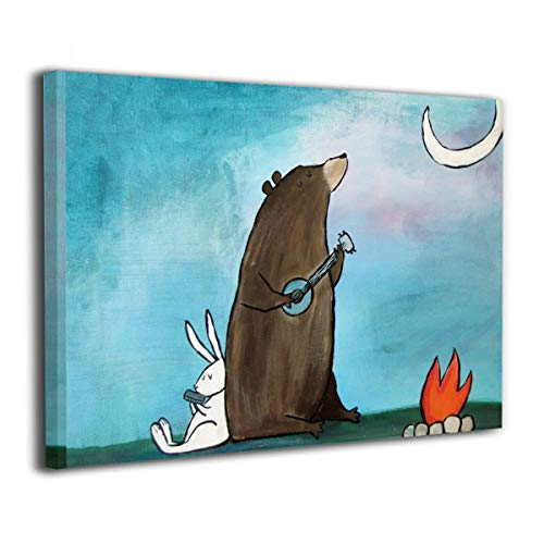 ExcelPic Campfire Guitar Bear Rabbit Mouth Organ Camping for sale  Delivered anywhere in USA