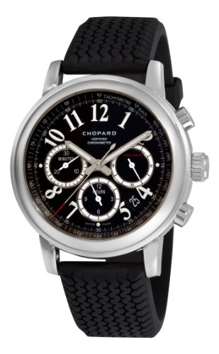 Chopard Men's 168511-3001 Mille Miglia Chronograph Black Dial - Mille Miglia Watches Chopard