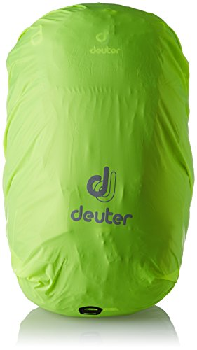 Deuter Rain Cover II Waterproof Rain Cover for Backpacks 30L to 50L, Neon