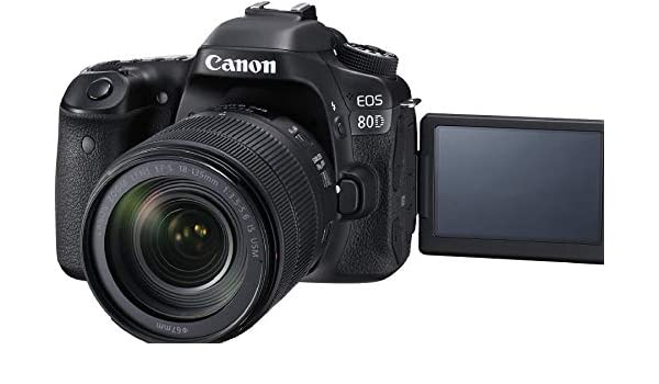 Canon Canon EOS 80D Digital SLR Kit with Image Stabilization ...
