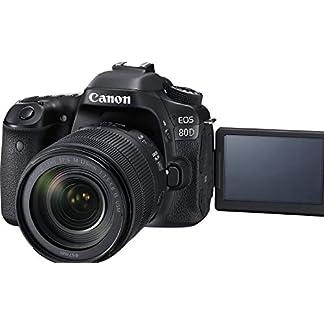 Canon EOS 80D 24.2MP Digital SLR Camera (Black) + EF-S 18-135mm f/3.5-5.6 Image Stabilization USM Lens Kit + 16GB Memory… 15