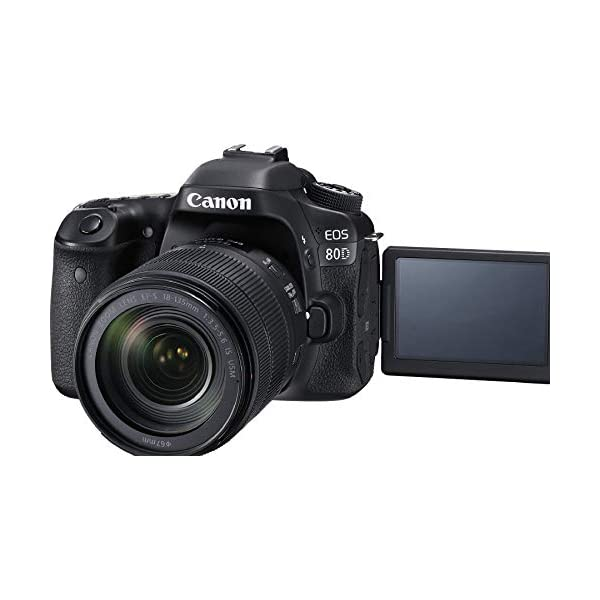 RetinaPix Canon EOS 80D 24.2MP Digital SLR Camera with Sennheiser XSW-D Portable Digital Camera-Mount Wireless Microphone System