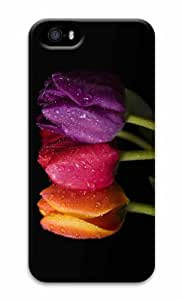 iPhone 5 3D Customized Case Colorful Tulips 5
