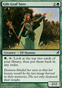 Magic: the Gathering - Gilt-Leaf Seer - Lorwyn - Foil
