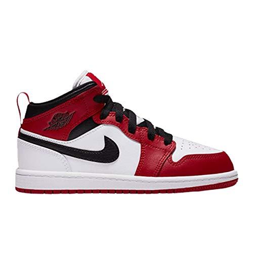 Nike Jordan Kid's Shoes Air Jordan 1 Mid (PS) Chicago 640734-173