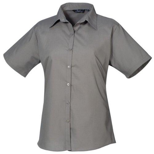 Premier Workwear - Camisa - Mujer Gris gris 42