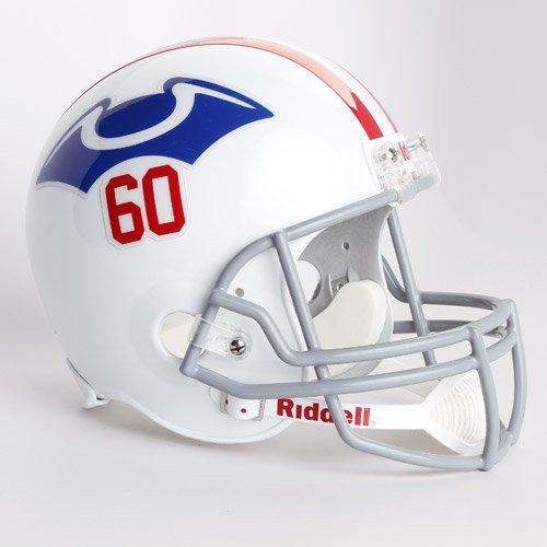 NFL Riddell Boston Patriots White 1960 Throwback Replica Full-Size Helmet by Riddell