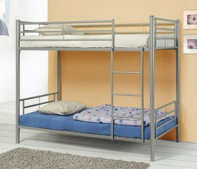 Denley Collection Metal Twin-over-Twin Bunk Bed by Coaster Home Furnishings