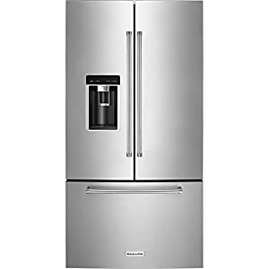 KitchenAid 23.8 Cu. Ft. Stainless Steel Counter-Depth French Door Refrigerator