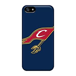High Quality Shock Absorbing Case For Iphone 5/5s-nba Cleveland Cavaliers 2