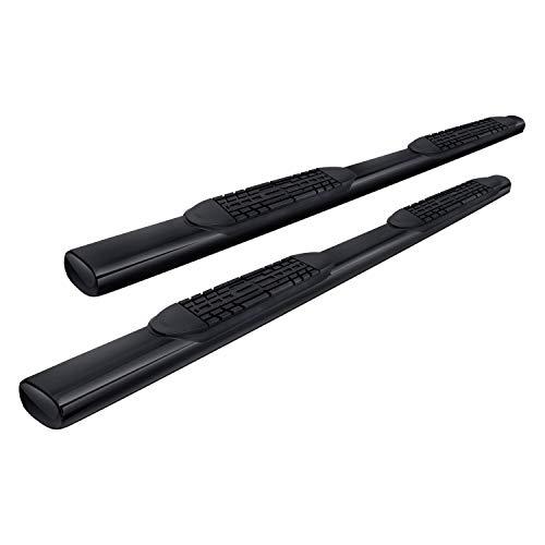 02-06 CRV CR-V MPH 4 inch Black Side Step Nerf Bars Rail Running - Elite Boards Running
