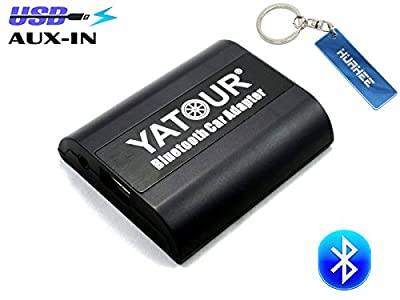 Yatour Hands Free Call Bluetooht Car Kit for Becker Becker 2234, Becker 2235, Becker 2237, Becker 2340 ,Becker CDR 22, Becker Cr 22,cascade Pro 7941 ,Cascade 7944 ,With USB Charger Port