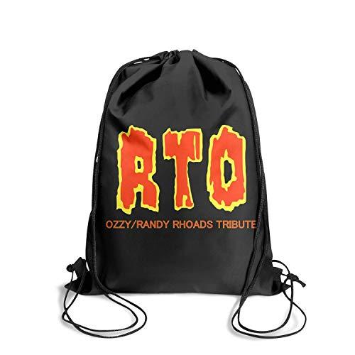 Randy Strings Rhoads - SINGKING Sackpack Beam Port Party Ozzy-Randy-Rhoads-Tribute- Drawstring Bags for Women & Men