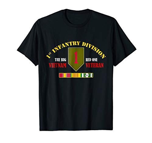 1st Infantry Division Vietnam Veteran Shirt The Big Red One