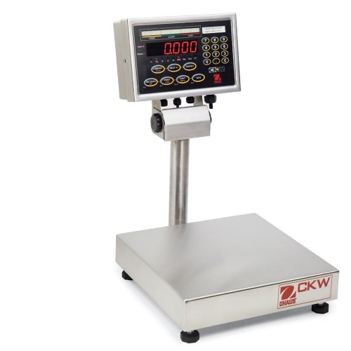 (Ohaus CKW Stainless Steel NTEP Certified Washdown Checkweighing Scale, 15kg x 2g)