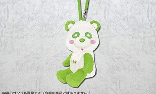 一番くじ え~パンダ 第2弾 AAA トリプルエー C賞 「 グリーン ぬいぐるみポーチ 」 浦田直也 ファミマ