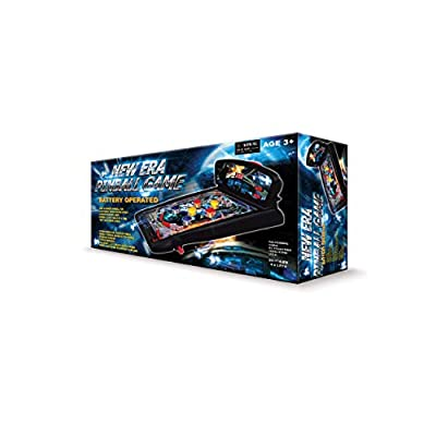 GB Pacific 1010 Pinball Game, Black: Toys & Games