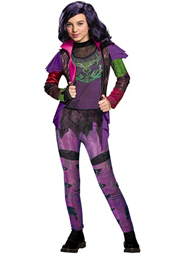 Mal Isle Of The Lost Deluxe Costume, Large (10-12) ()