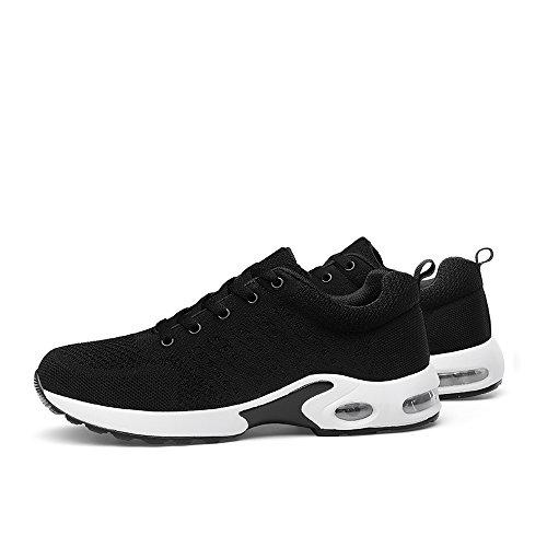 da Running 3 Ginnastica Sneakers Shock da Scarpe Sports Donna Unisex Black da Anti Jogging Air Ginnastica Corsa Scarpe Sportive da 517w1qf