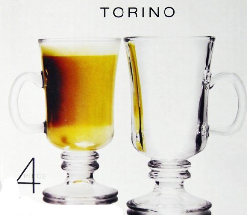 Torine Irish Coffee Cups Circle Glass 51260