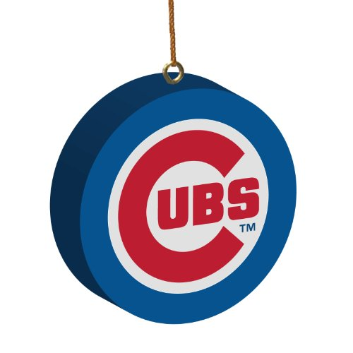 MLB Chicago Cubs 3D Logo Ornament