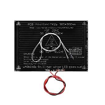 UsongShine PCB - Cama calefactora MK2A con resistencia LED y cable ...