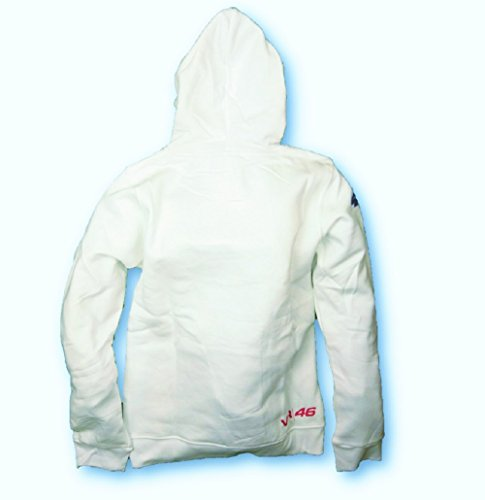 I Love para mujer MotoGP Valentino Rossi sudadera con capucha sudadera con capucha para blanco