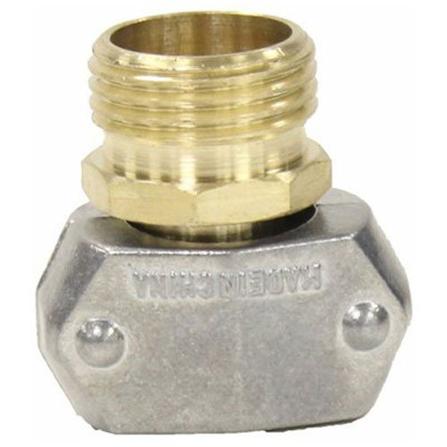 Gilmour 311GARP Brass & Zinc Male Thread Garden Hose Repair | Fits 5/8 and 3/4 inch Hoses - 3 Pack