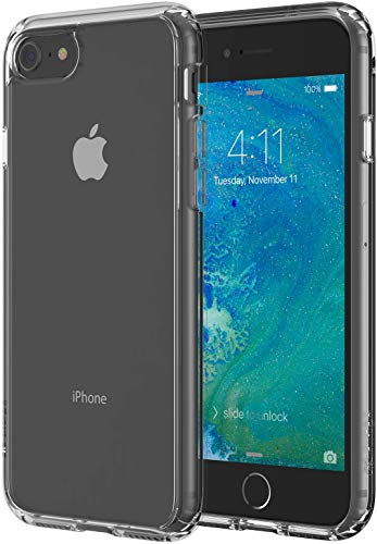 Altigo iPhone 8 Case (Compatible with iPhone 7) - Crystal Clear Case